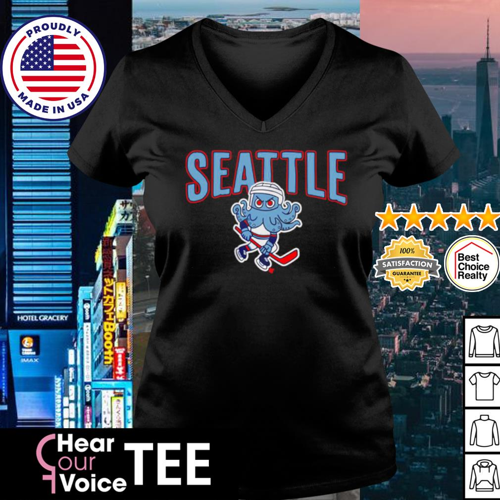 Kritty Seattle Kraken Shirt v-neck t-shirt