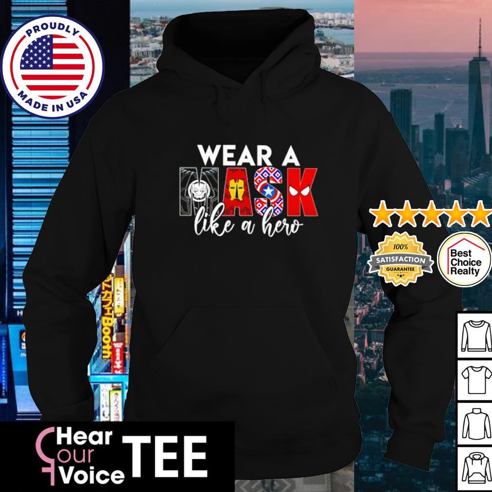 Marvel Wear a mask like a hero s hoodie