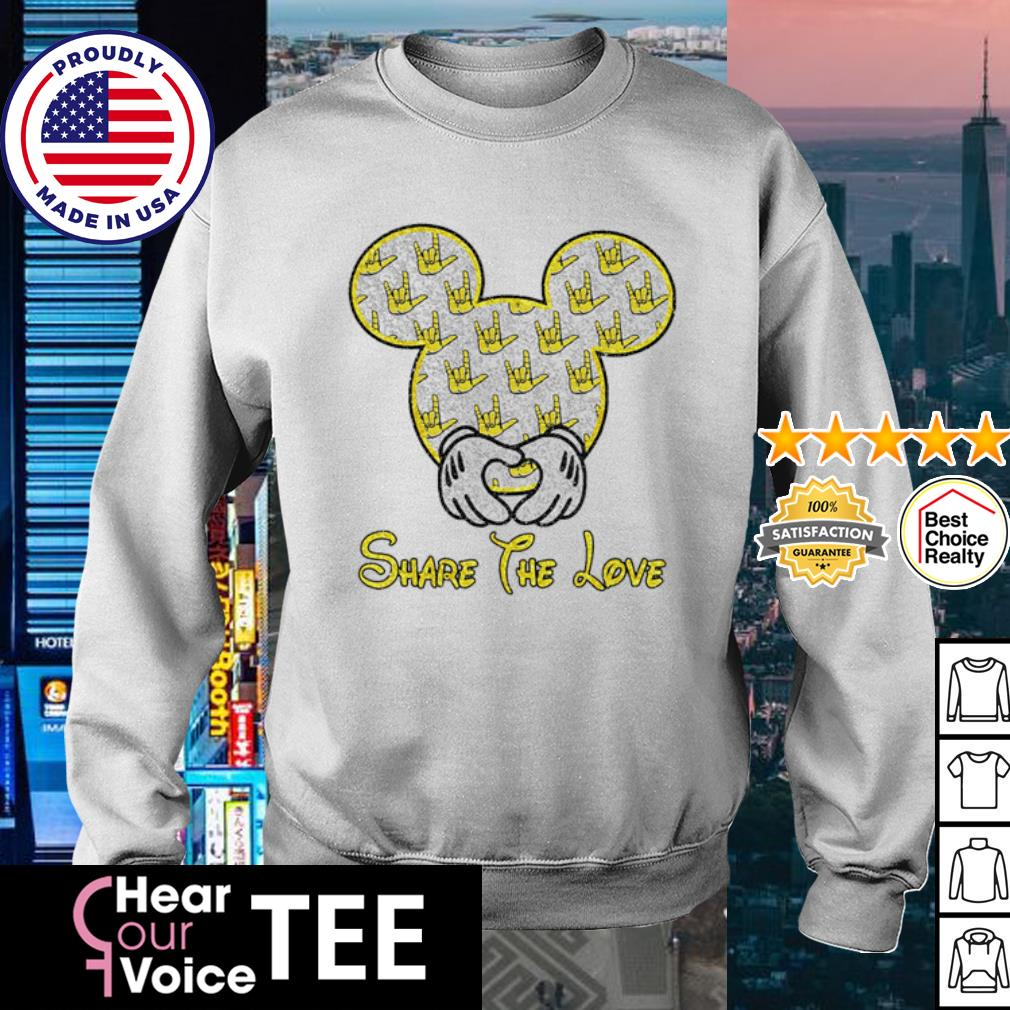 Mickey Mouse share the love s sweater