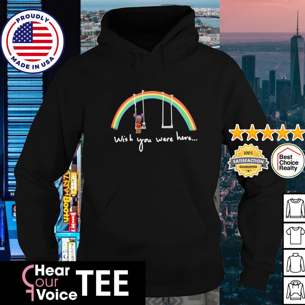 Mickey mouse Wish you were here s hoodie