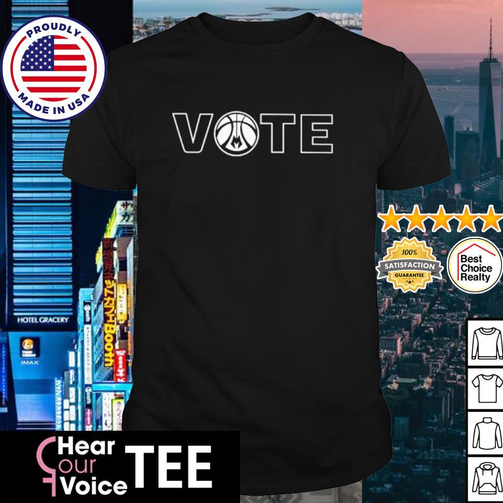 Milwaukee Bucks Vote shirt