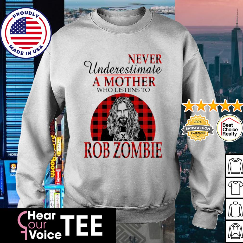 Never underestimate a mother who listens to Rob Zombie s sweater