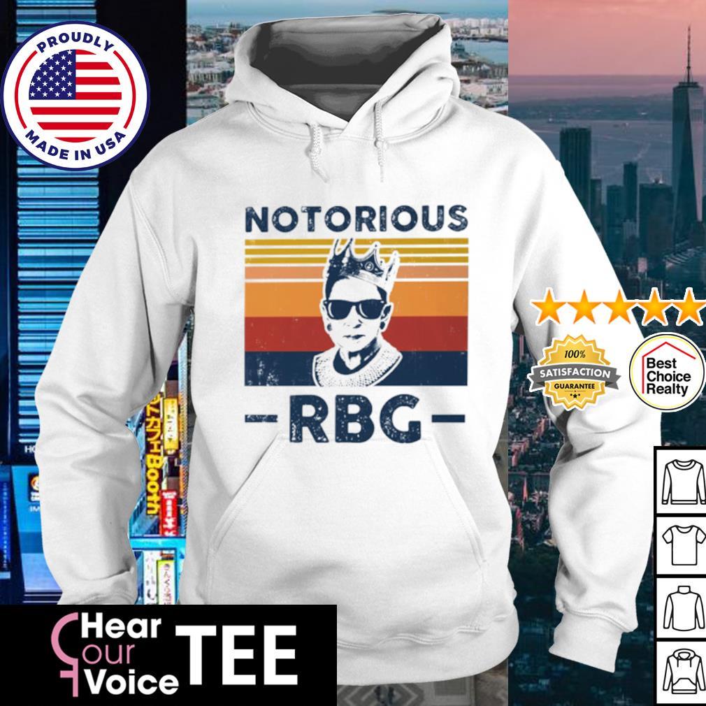 Notorious RBG Retro vintage s hoodie