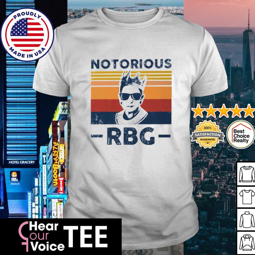 Notorious RBG Retro vintage shirt