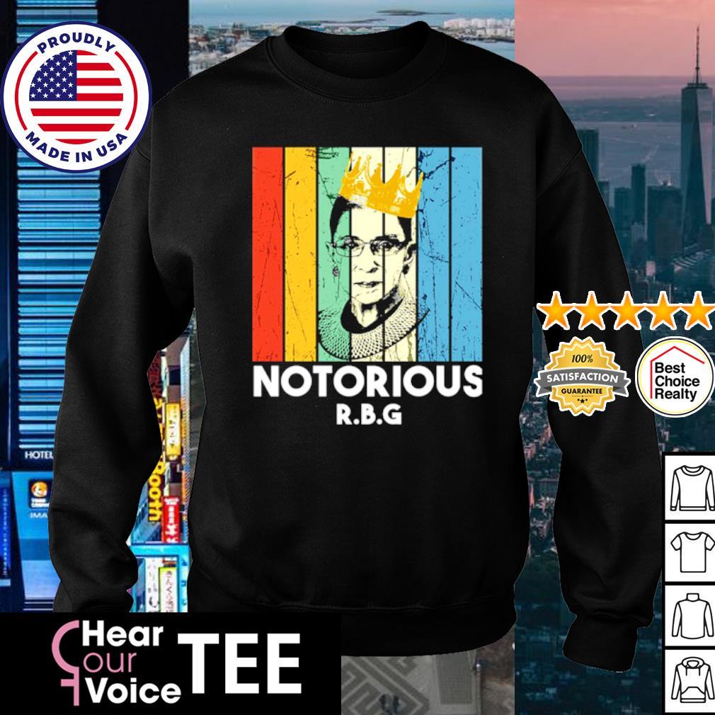 Notorious RBG vintage s sweater