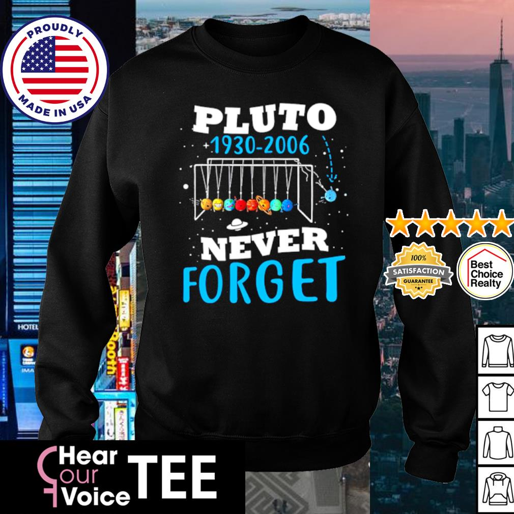 Pluto 1930-2006 never forget s sweater