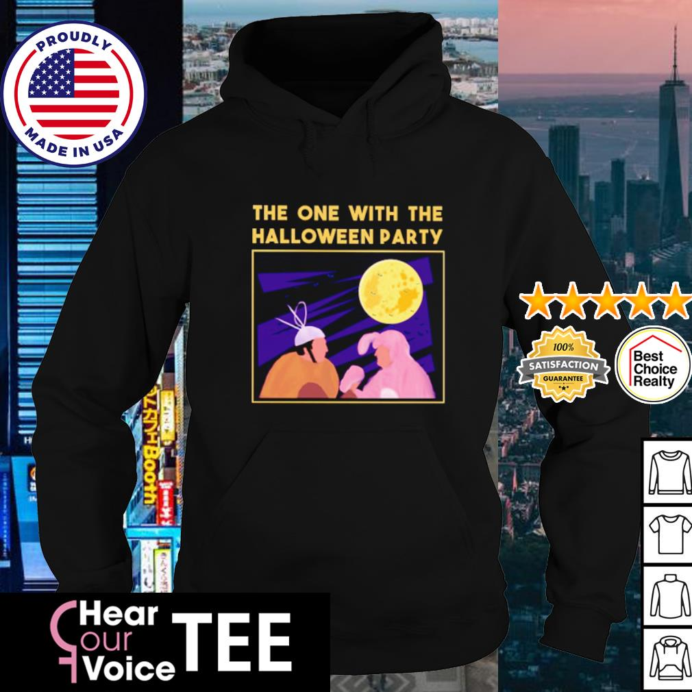 Rabbit The one with the Halloween party shrit hoodie