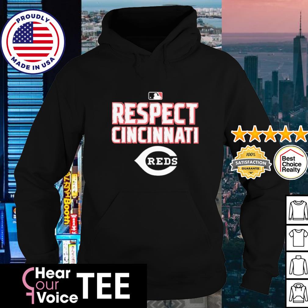 Respect Cincinnati Reds 2020 s hoodie