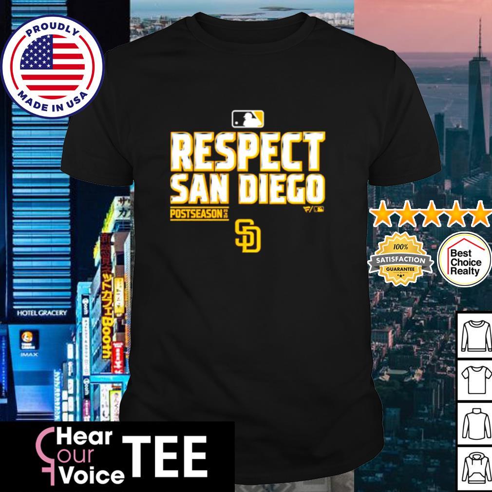 Respect san diego Postseason 2020 shirt