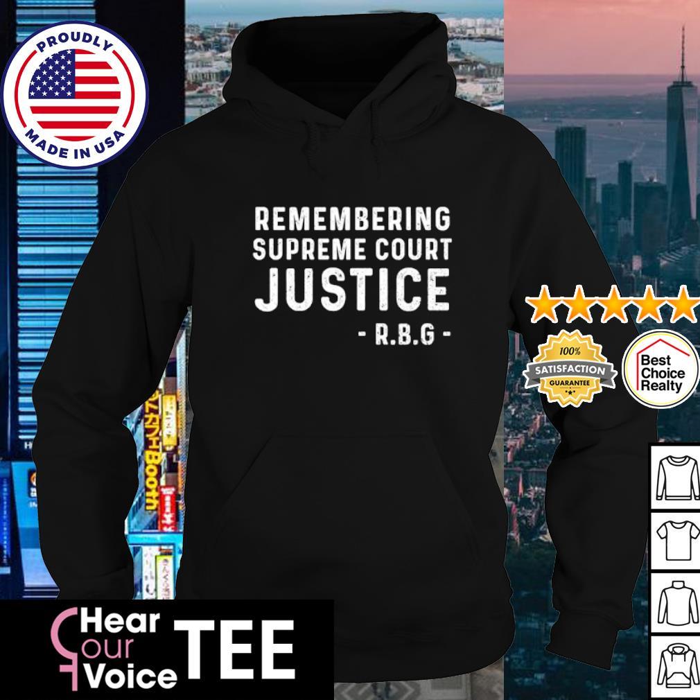 Rip RBG Remembering supreme court justice s hoodie