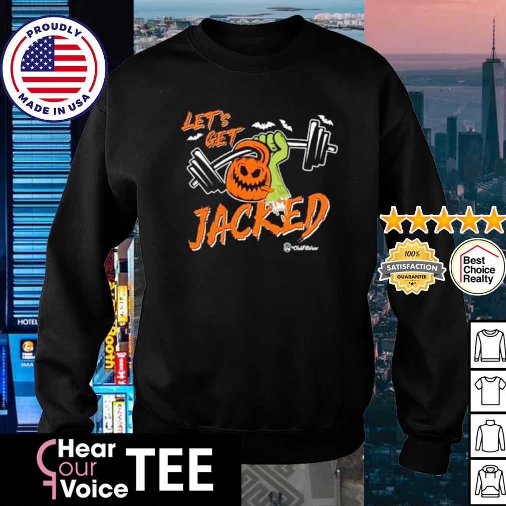 Strong let's Jacked Pumpkin Halloween s sweater