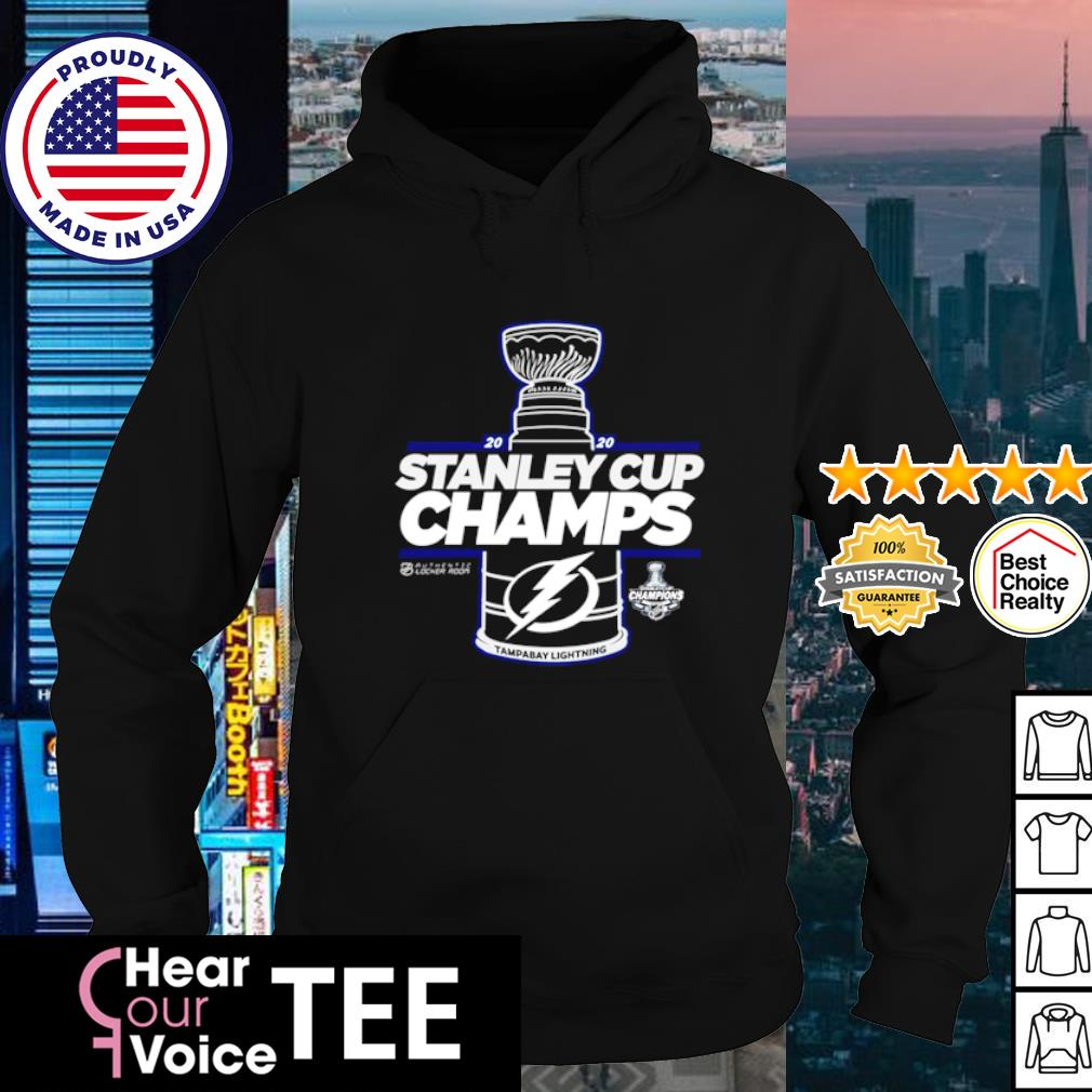 Tampa Bay Lightning 2020 Stanley Cup Champions Shirt hoodie