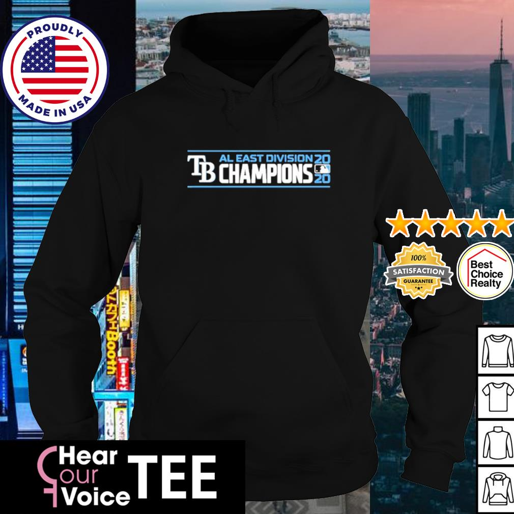 TB AL East Division Champions 2020 s hoodie