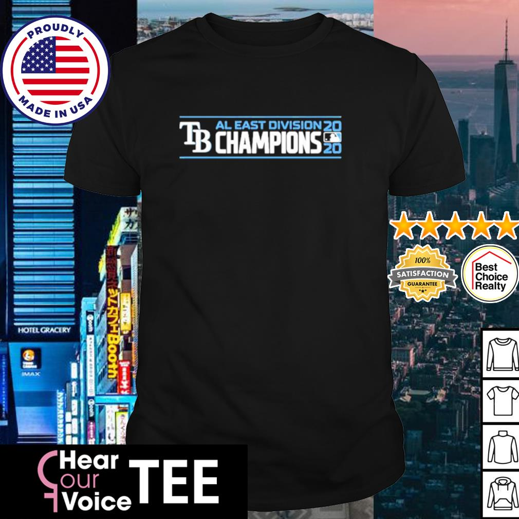 TB AL East Division Champions 2020 shirt