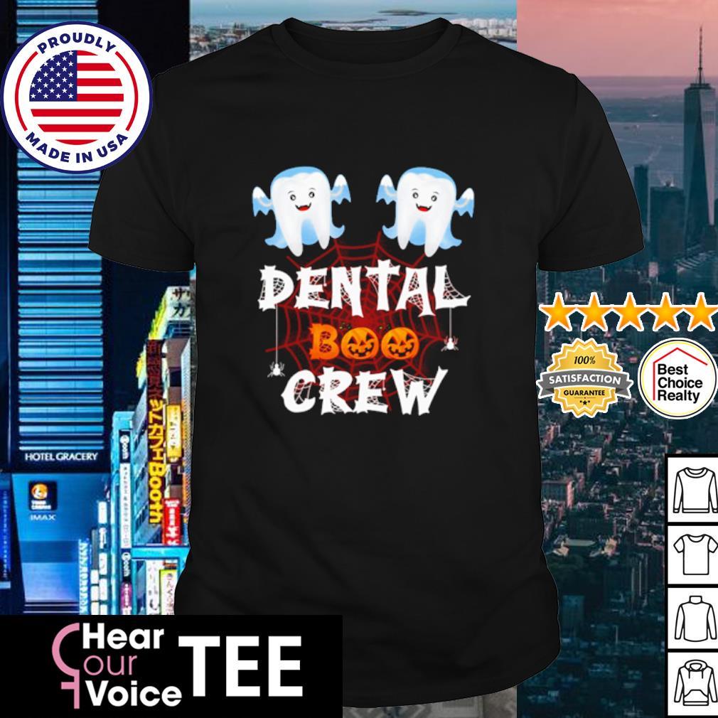 Teeth dental Boo crew Halloween shirt