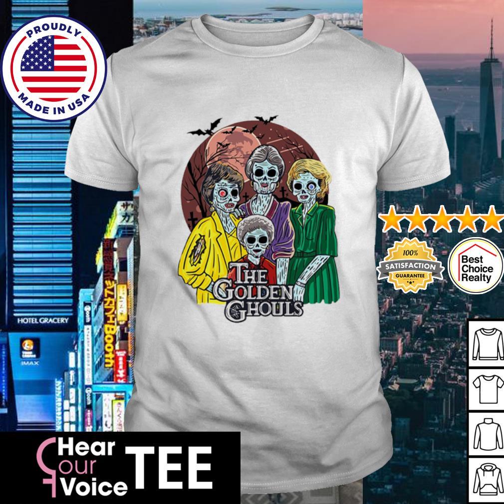 The Golden Girls The golden ghouls happy Halloween shirt