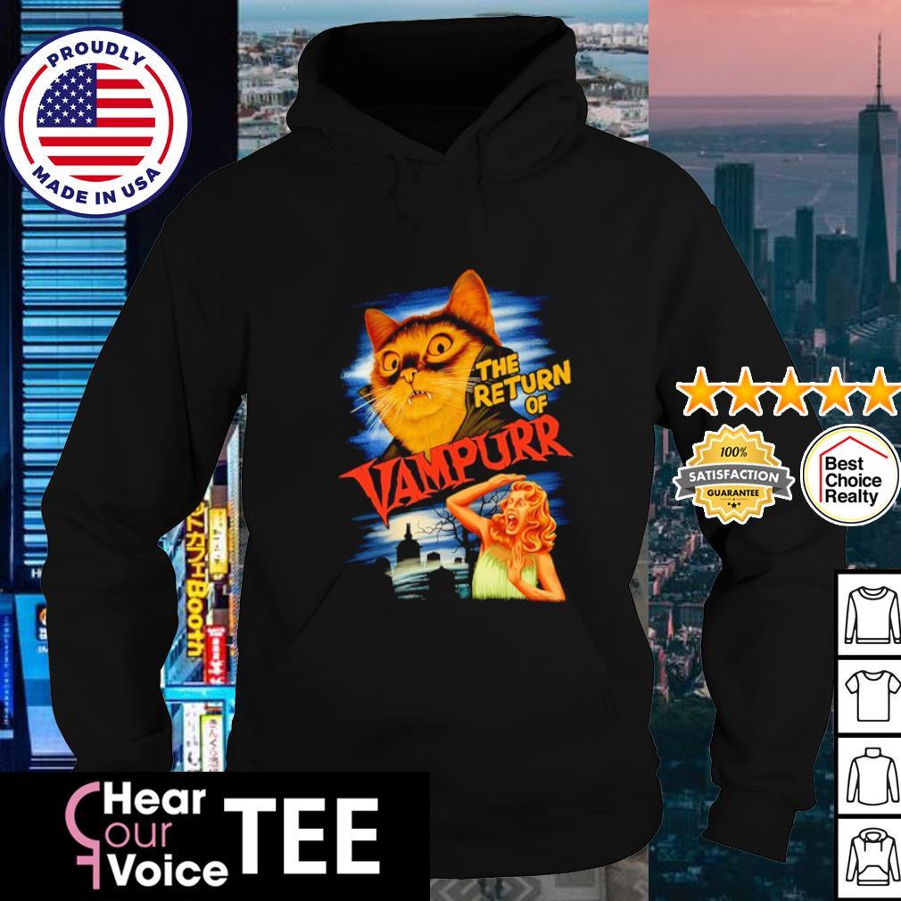The return of vampurr Cat Vampire s hoodie