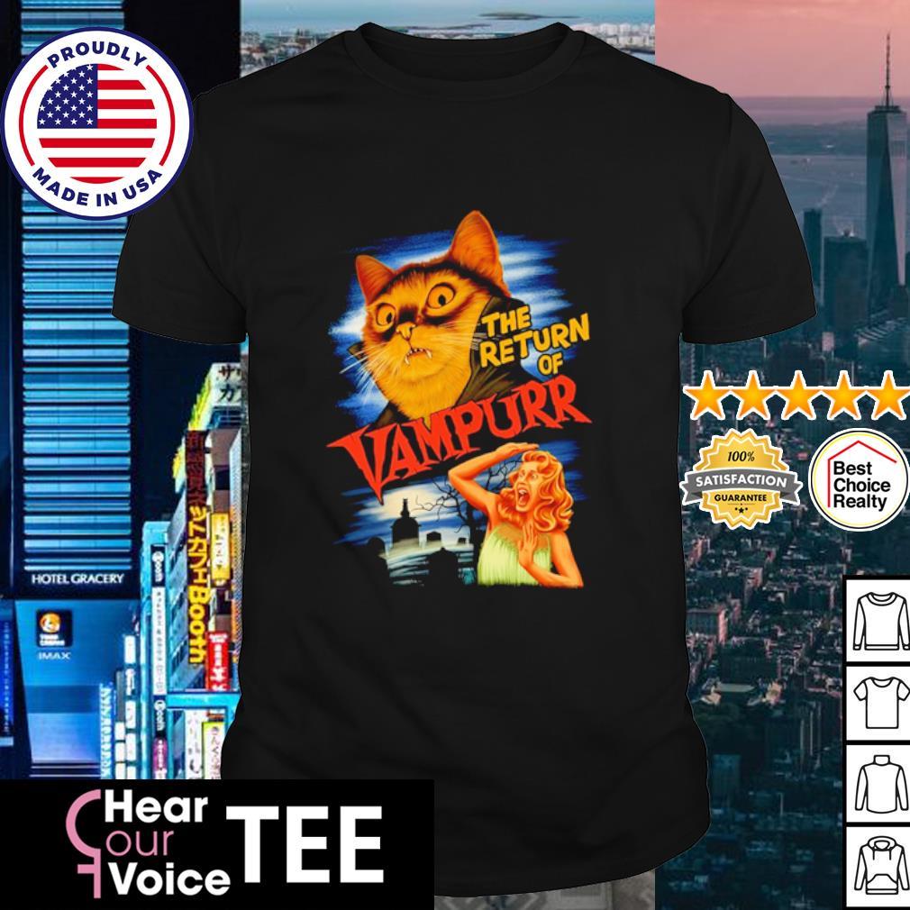 The return of vampurr Cat Vampire shirt