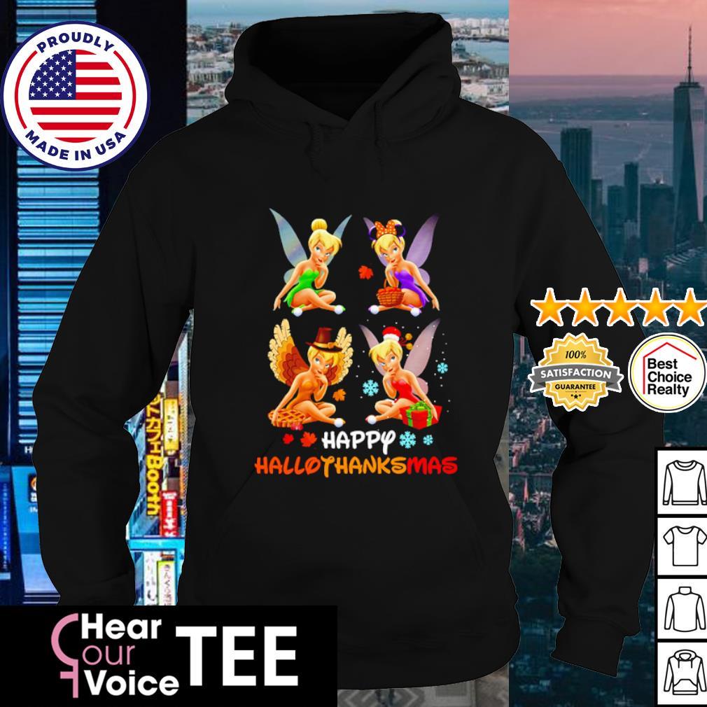 Tinkerbell happy HalloThanksMas s hoodie
