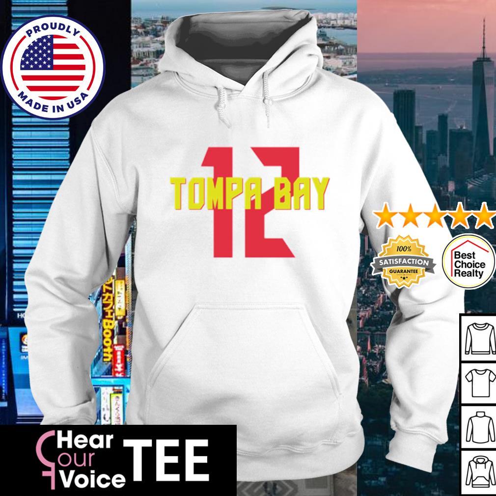Tompa Bay 12 s hoodie