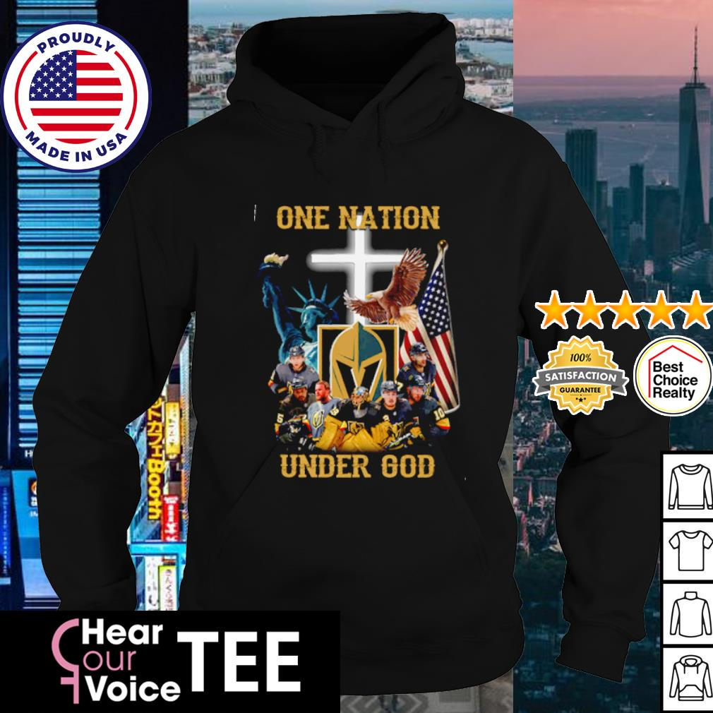 Vegas Golden Knights one nation under god American flag s hoodie
