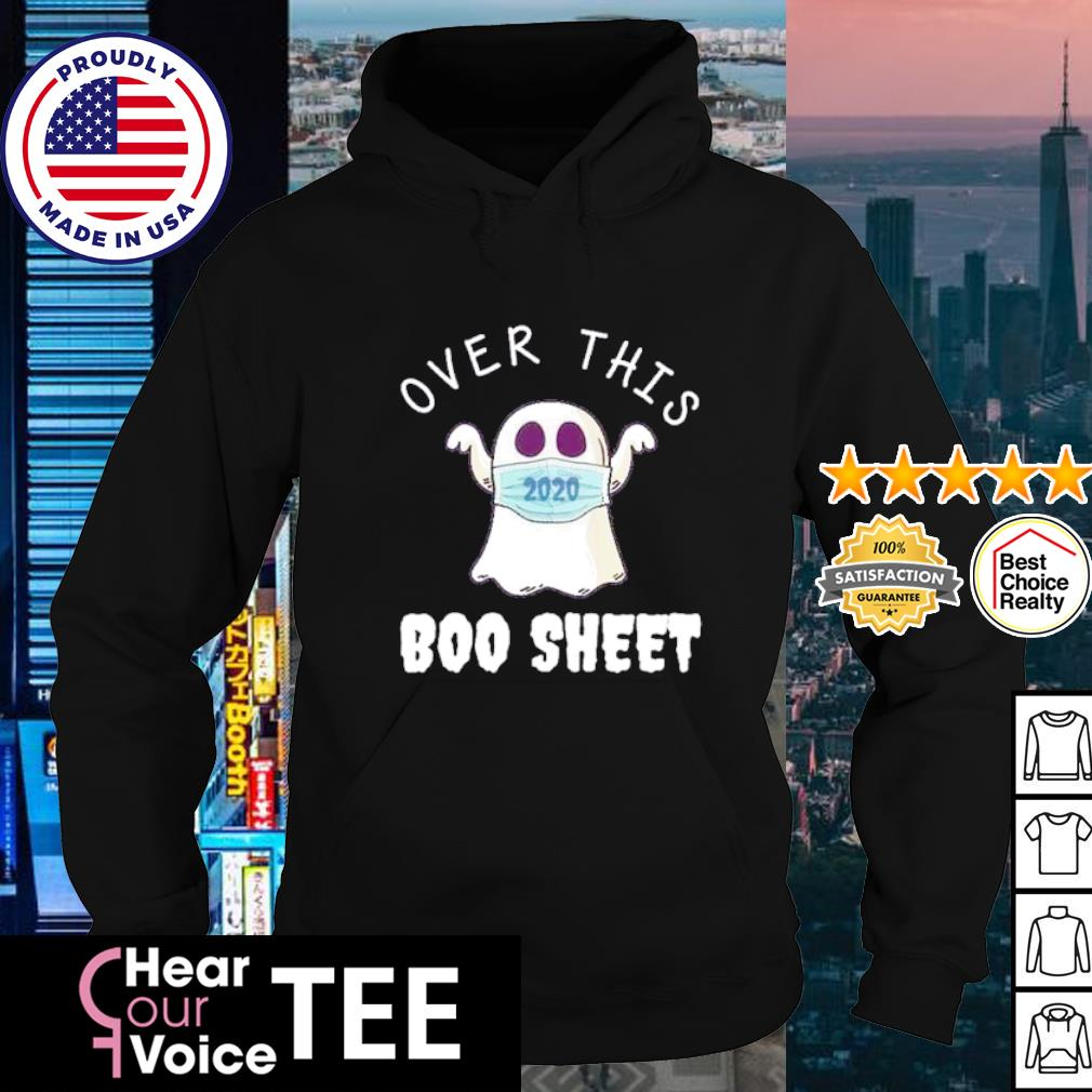 2020 Over this Boo sheet Halloween s hoodie