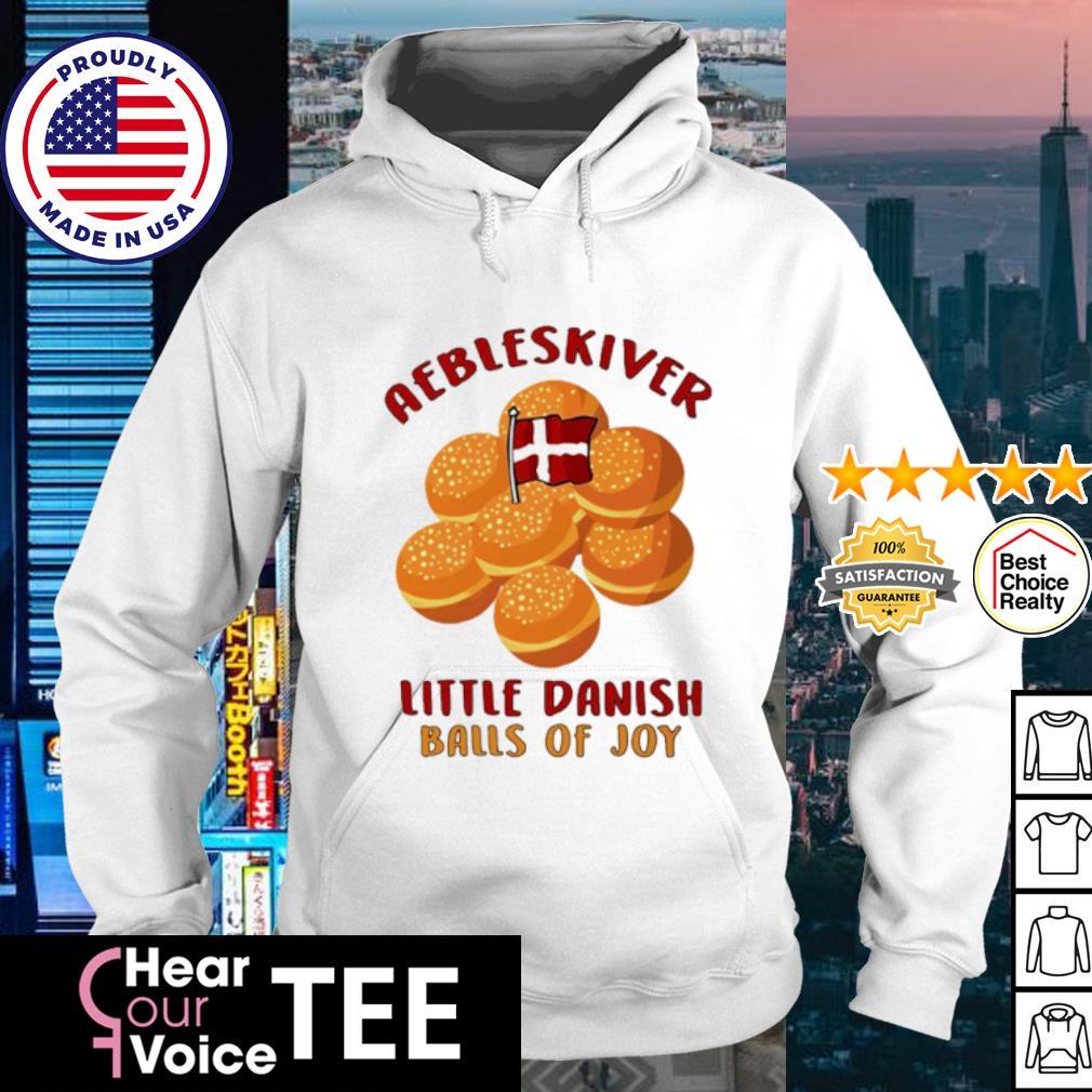 Aebleskiver little danish balls of joy s hoodie