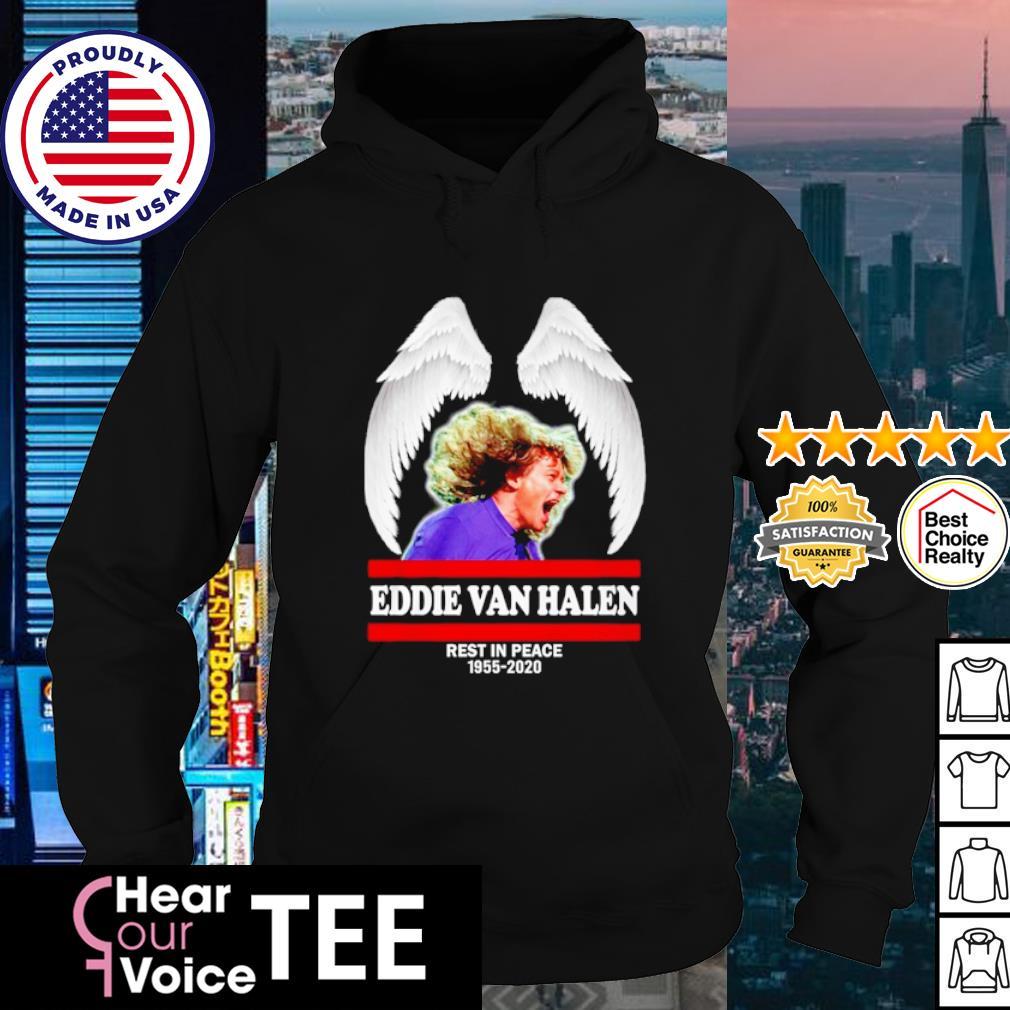Eddie Van Halen Rest in peace 1955 2020 signature s hoodie