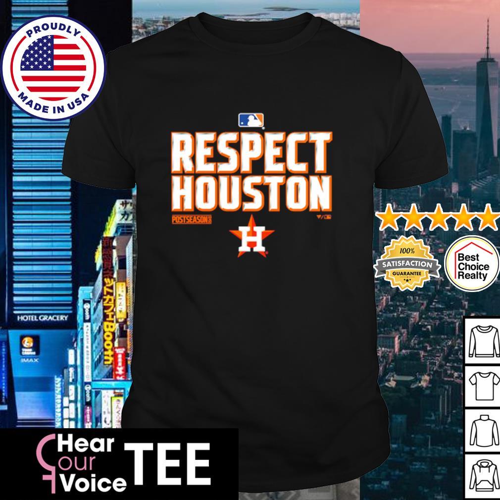 Respect Houston Astros Postseason 2020 shirt