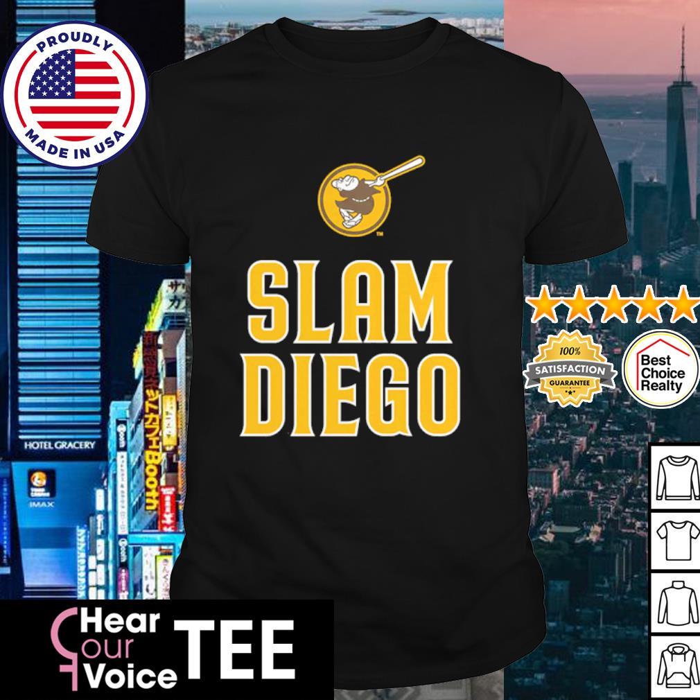 San Diego Padres Fanatics Branded Brown Slam Diego shirt
