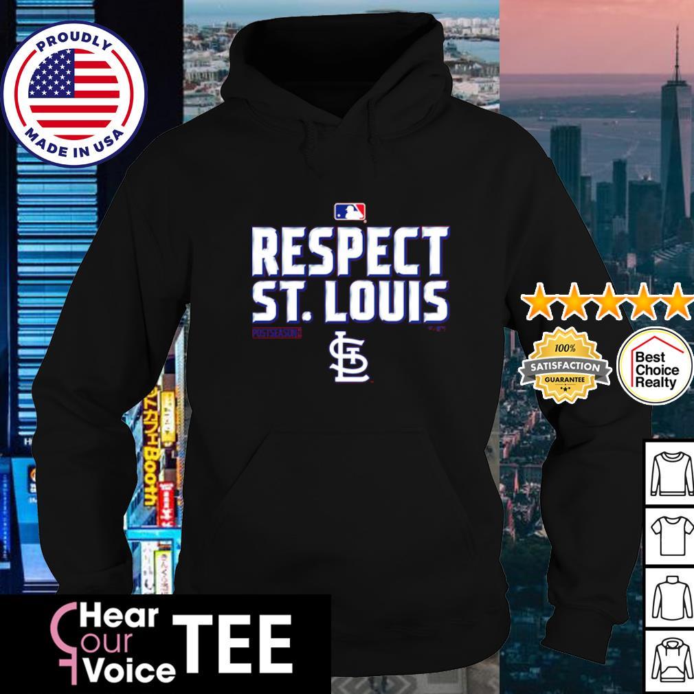 St. Louis Cardinals Fanatics Branded Red 2020 Postseason s hoodie