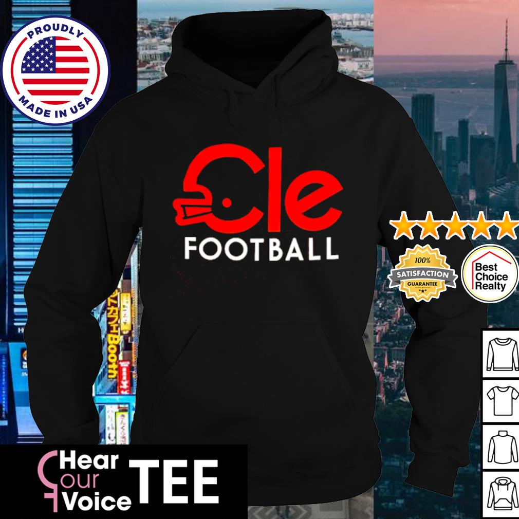 Cleveland Cle football s hoodie