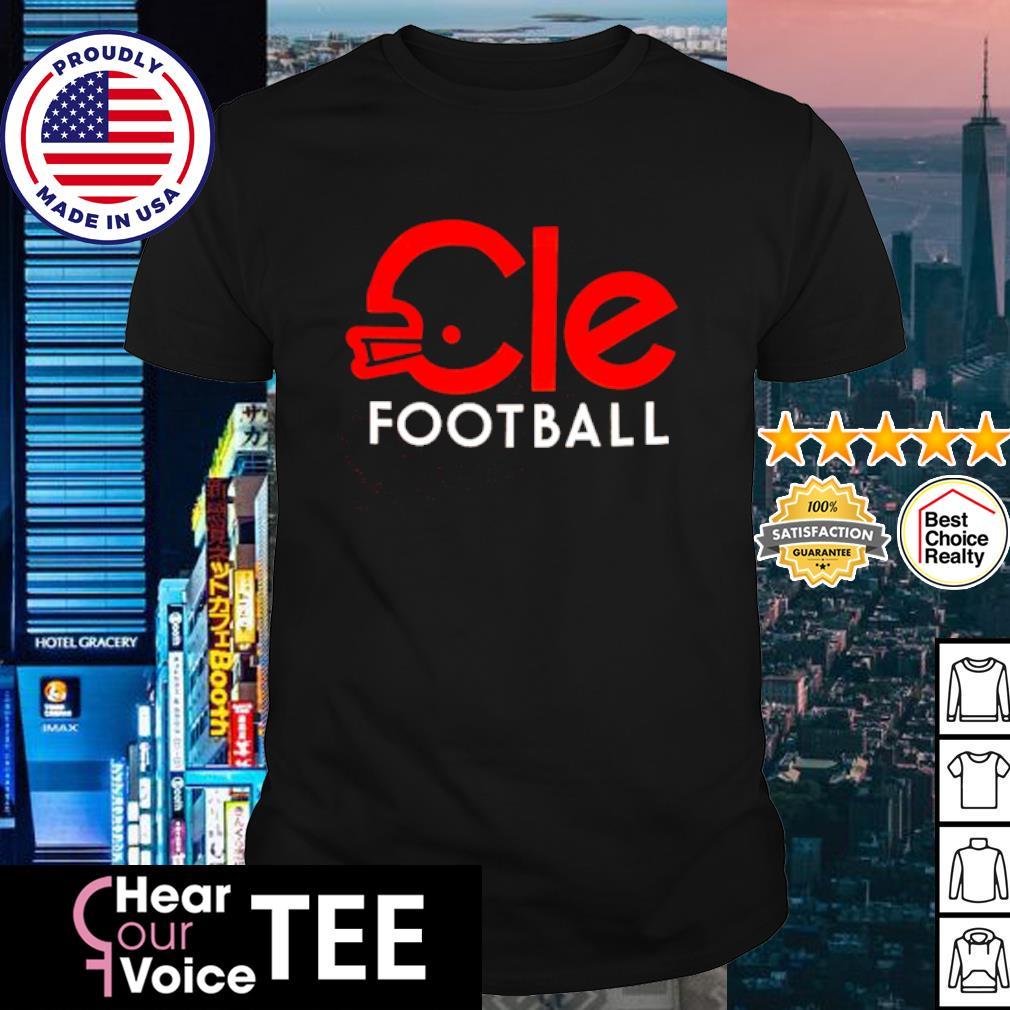 Cleveland Cle football shirt