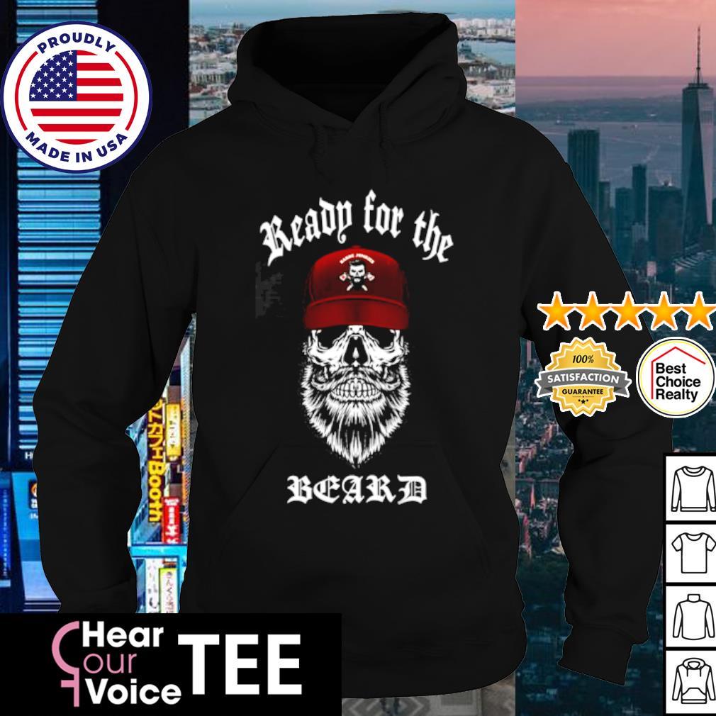 Skull Ready for the beard s hoodie