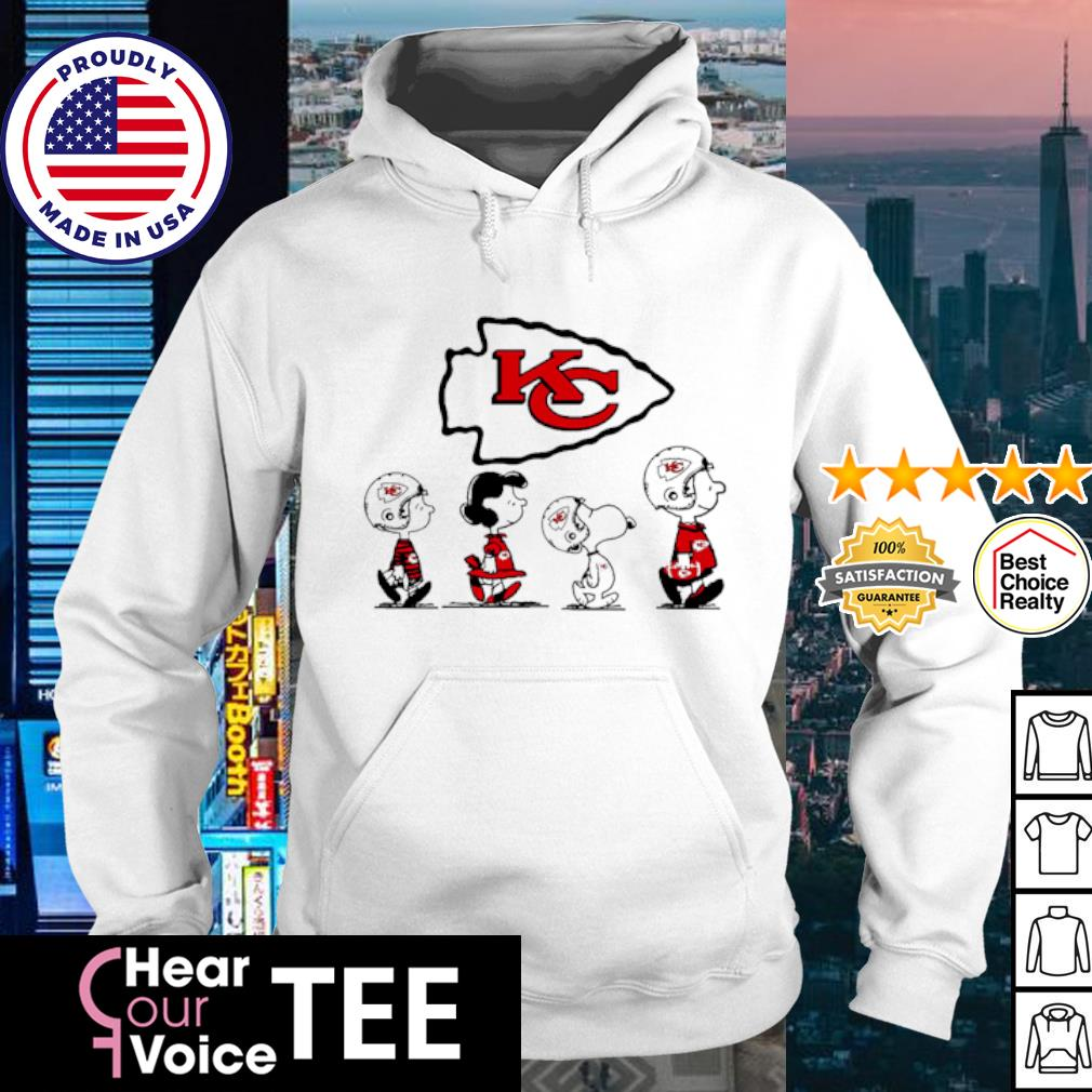 Snoopy and friends Abbey Road Kansas City Chiefs s hoodie