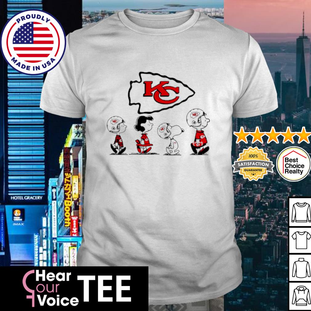 Snoopy and friends Abbey Road Kansas City Chiefs shirt